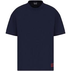 Odjeća Muškarci  Majice kratkih rukava Ea7 Emporio Armani 3KPT58 PJ02Z Plava