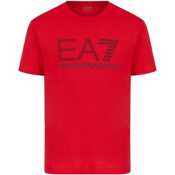 Odjeća Muškarci  Majice kratkih rukava Ea7 Emporio Armani 3KPT81 PJM9Z Crvena