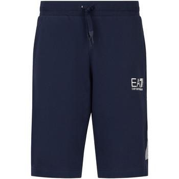 Odjeća Muškarci  Bermude i kratke hlače Ea7 Emporio Armani 3KPS67 PJ05Z Plava