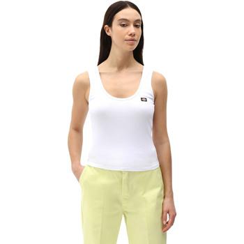 Odjeća Žene  Majice s naramenicama i majice bez rukava Dickies DK0A4XB9WHX1 Bijela