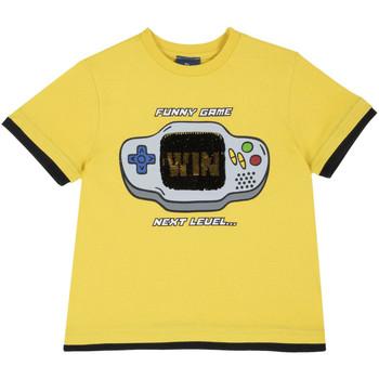 Odjeća Djeca Majice kratkih rukava Chicco 09067292000000 Žuta boja