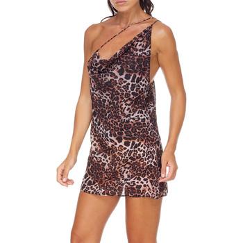 Odjeća Žene  Kratke haljine Me Fui M20-0456X1 Smeđa