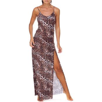 Odjeća Žene  Duge haljine Me Fui M20-0462X1 Smeđa