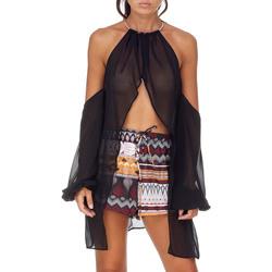 Odjeća Žene  Topovi i bluze Me Fui M20-0053NR Crno