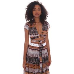 Odjeća Žene  Topovi i bluze Me Fui M20-0051X1 Smeđa