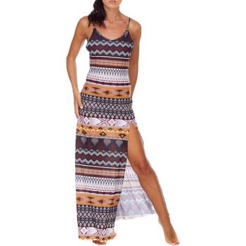 Odjeća Žene  Duge haljine Me Fui M20-0080X1 Smeđa
