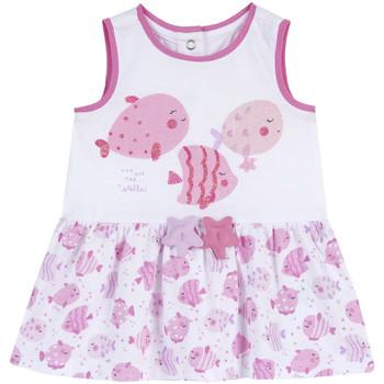 Odjeća Djevojčica Kratke haljine Chicco 09003813000000 Bijela