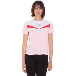 Odjeća Žene  Majice kratkih rukava Diadora 102175659 Ružičasta