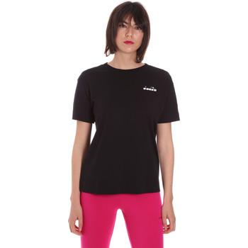 Odjeća Žene  Majice kratkih rukava Diadora 102175873 Crno