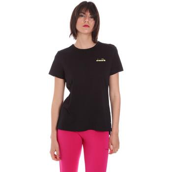 Odjeća Žene  Majice kratkih rukava Diadora 102175882 Crno