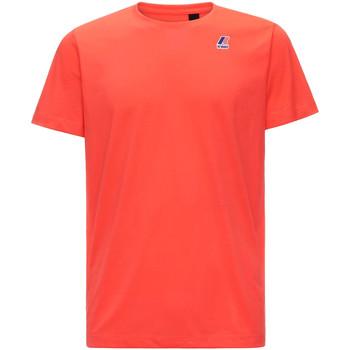 Odjeća Muškarci  Majice kratkih rukava K-Way K007JE0 Crvena