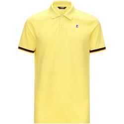Odjeća Muškarci  Polo majice kratkih rukava K-Way K008J50 Žuta boja