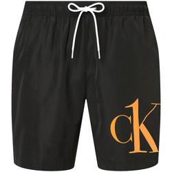 Odjeća Muškarci  Bermude i kratke hlače Calvin Klein Jeans KM0KM00590 Crno