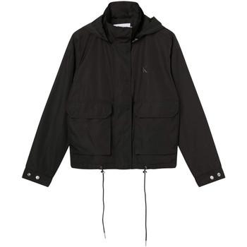 Odjeća Žene  Kratke jakne Calvin Klein Jeans J20J216342 Crno