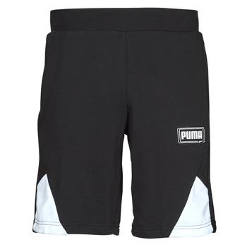Odjeća Muškarci  Bermude i kratke hlače Puma RBL SHORTS Crna / Bijela