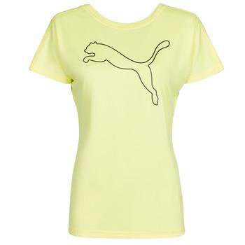 Odjeća Žene  Majice kratkih rukava Puma RECYCL JERSY CAT TEE Žuta