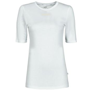 Odjeća Žene  Majice kratkih rukava Puma MBASIC TEE Bijela
