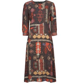 Odjeća Žene  Duge haljine Desigual ALBURQUERQUE Multicolour
