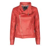 Odjeća Žene  Kožne i sintetičke jakne Desigual MARBLE Red
