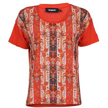 Odjeća Žene  Majice kratkih rukava Desigual LOMBOK Multicolour