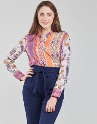 Odjeća Žene  Majice dugih rukava Desigual BOHO Multicolour