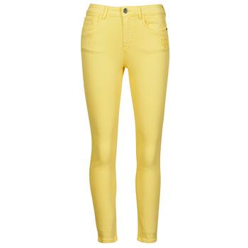 Odjeća Žene  Hlače s pet džepova Desigual ALBA Žuta