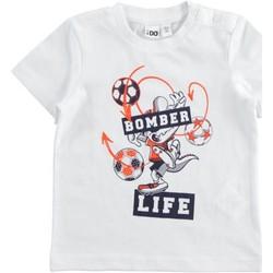 Odjeća Dječak  Majice kratkih rukava Ido 7316520 Bianco
