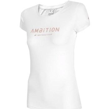 Odjeća Žene  Majice kratkih rukava 4F H4L21 TSD033 Bijela