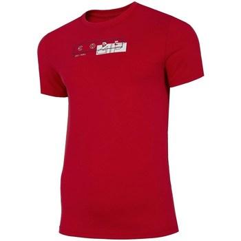 Odjeća Muškarci  Majice kratkih rukava 4F H4L21 TSM021 Red