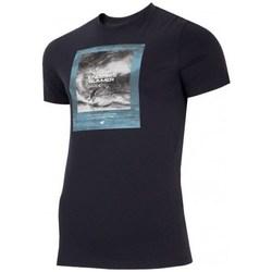 Odjeća Muškarci  Majice kratkih rukava 4F TSM028 Crna