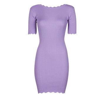Odjeća Žene  Kratke haljine Yurban PAULINO Ljubičasta