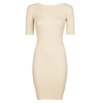 Odjeća Žene  Kratke haljine Yurban PAULINO Bež