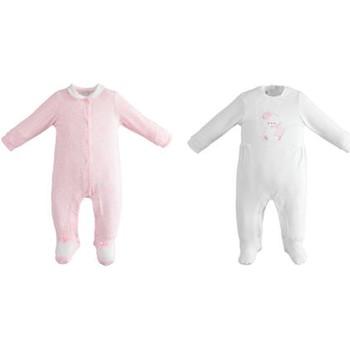 Odjeća Djevojčica Dječji kompleti Ido 7418495 Bianco/rosa