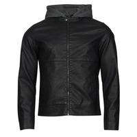 Odjeća Muškarci  Kožne i sintetičke jakne Jack & Jones JCOWILLY Crna