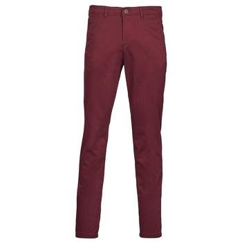 Odjeća Muškarci  Chino hlačei hlače mrkva kroja Jack & Jones JJIMARCO Bordo