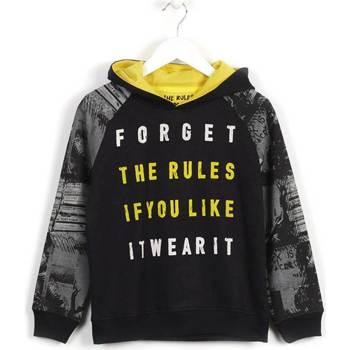 Odjeća Djeca Sportske majice Losan 623 6003AA Crno