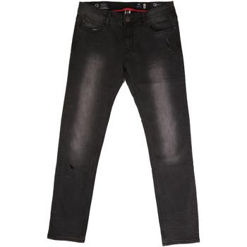Odjeća Muškarci  Traperice ravnog kroja Gaudi 721BU26044 Crno