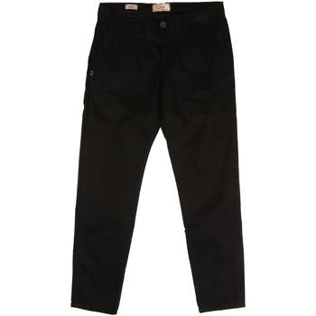 Odjeća Muškarci  Chino hlačei hlače mrkva kroja Gaudi 721BU25006 Crno
