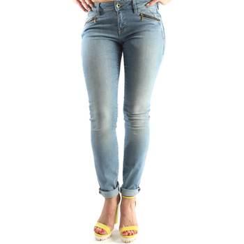 Odjeća Žene  Traperice ravnog kroja Geox W5230A T2209 Plava