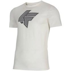 Odjeća Muškarci  Majice kratkih rukava 4F TSM010 Bijela