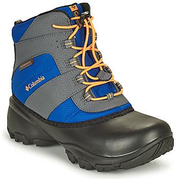 Obuća Djeca Pješaćenje i planinarenje Columbia YOUTH ROPE TOW BOY Blue / Narančasta