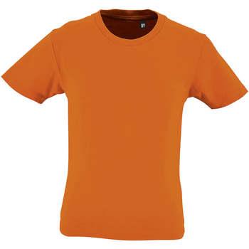 Odjeća Djeca Majice kratkih rukava Sols CAMISETA DE MANGA CORTA Naranja