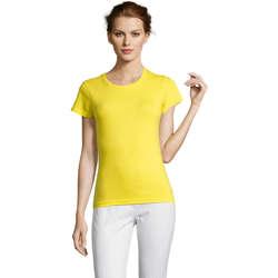 Odjeća Žene  Majice kratkih rukava Sols Miss camiseta manga corta mujer Amarillo