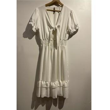 Odjeća Žene  Kratke haljine Fashion brands 9176-BLANC Bijela