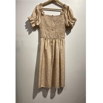 Odjeća Žene  Kratke haljine Fashion brands 53176-BEIGE Bež