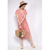 Odjeća Žene  Duge haljine Fashion brands 6658-CORAIL Koraljna