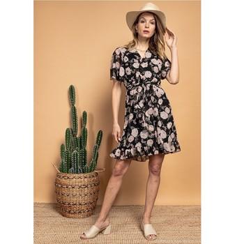 Odjeća Žene  Kratke haljine Fashion brands 2145A-NOIR Crna