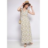 Odjeća Žene  Kratke haljine Fashion brands R182-BEIGE Bež
