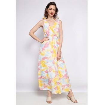 Odjeća Žene  Duge haljine Fashion brands R185-JAUNE Žuta