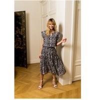Odjeća Žene  Topovi i bluze Fashion brands CK08138-MARINE Blue